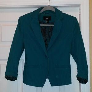H&M Short Jacket - Emerald Green / Ladies
